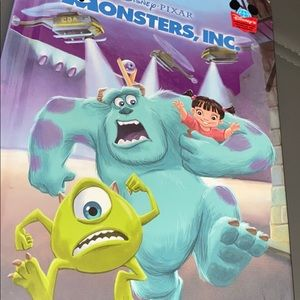 Disney Pixar Monsters , inc. book